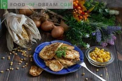 Aparati s koruzo in čebulo - prava domača hitra hrana