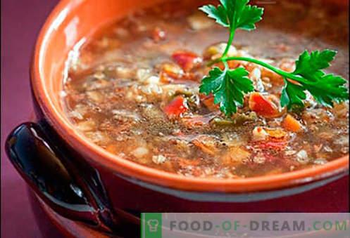 Svinjska juha - najboljši recepti. Kako pravilno in okusno kuhati juho v svinjski juhi.
