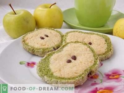 Piškotki iz zelene jabolke
