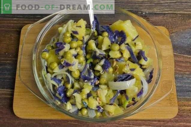 Lean salata s krompirjem