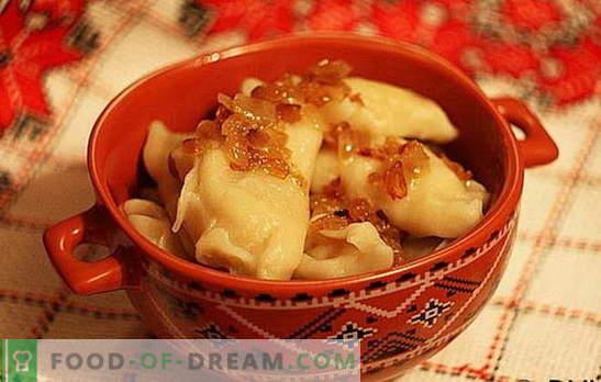 Žličniki s krompirjem in zelje: hitri, okusni, poceni. Izbor najboljših receptov za prehrano s krompirjem in zeljem