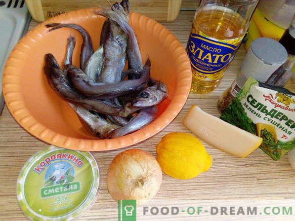 Mol v pečici, recept pod sirno skorjo