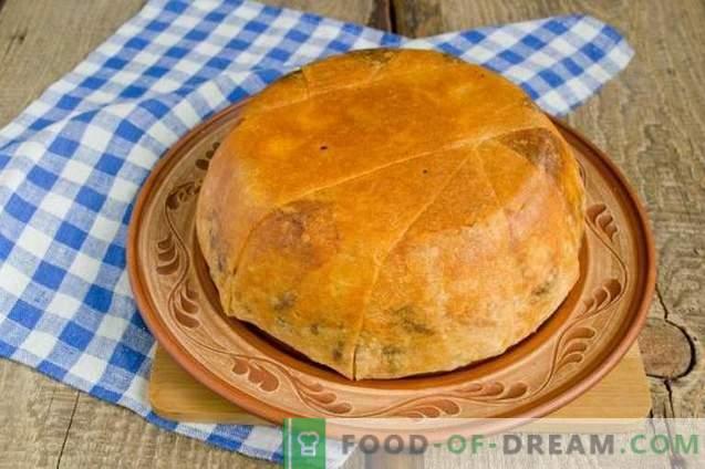 Šah-pilaf v kruhu pita - uživanje za počitnice