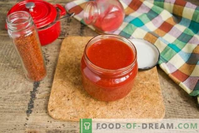 Domači kečap in zimske slive