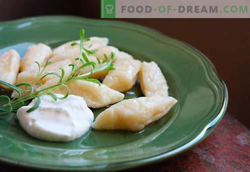 Smetarski štruklji so najboljši recepti. Kako pravilno in okusno kuhati tradicionalne in leni dumplings s skuto doma.