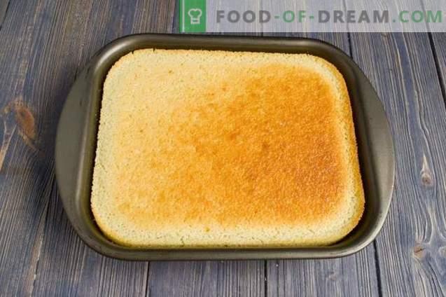 Selbst gemachter Kuchen ohne Mehl