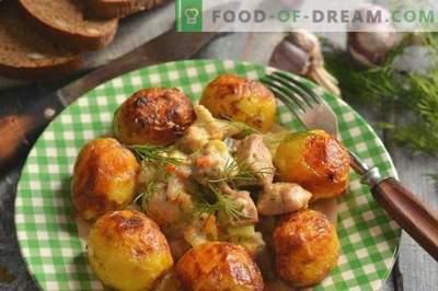 Svinjina s bučkami in krompirjem