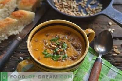 Kremna juha s bučkami in piščancem