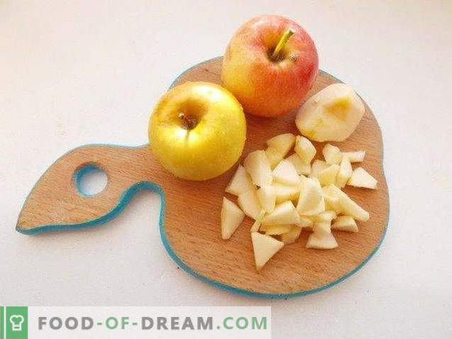 Jabolčna makova torta