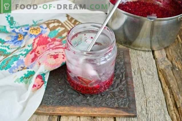 Malina marmelada za zimo v 10 minutah
