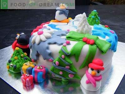 Torta za novo leto - recepti torte za novoletne počitnice
