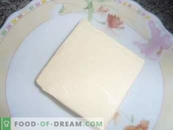 Kako pripraviti torto Ptičje mleko z zdrobom, podroben recept.