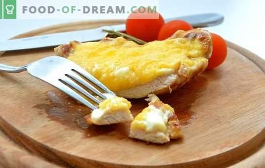 Svinjski narezki s sirom: ali ste klasični, pohabljeni ali češnjeni? Vsakodnevni in praznični recepti s sirovimi rezinami s sirom