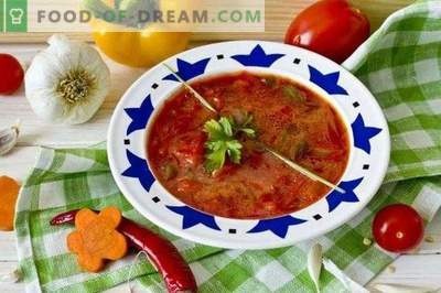 Vegetarijanski boršč - juha od rdeče pese
