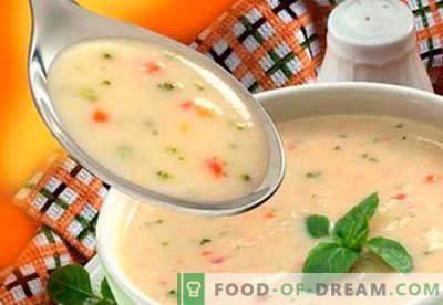 Juhe za otroke - dokazani recepti. Kako pravilno in okusno kuhati juhe za otroke.