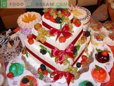 Sadna torta - najboljši recepti. Kako pravilno in okusno pripraviti sadno torto.