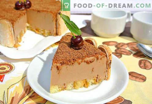 Cake soufflé - de beste recepten. Hoe om snel en smakelijk een soufflecake te koken.