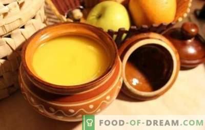 Ghee doma - kako narediti najbolj uporaben izdelek. Ghee (domače) maslo - preprosti recepti