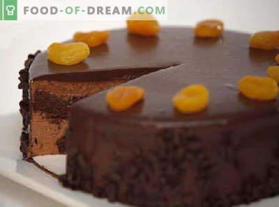 Čokoladna torta - najboljši recepti. Kako pravilno in slastno pripraviti čokoladno torto.
