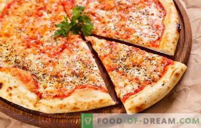 Originalne in različne različice klasične pizze Margherita. Kako narediti pico