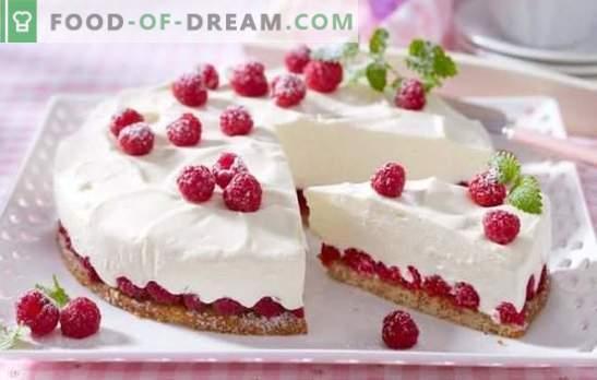 Nežna in okusna nizkokalorična torta - delikatesni recept za tanke sladkarije. Različice kreme in testa za nizkokalorično torto