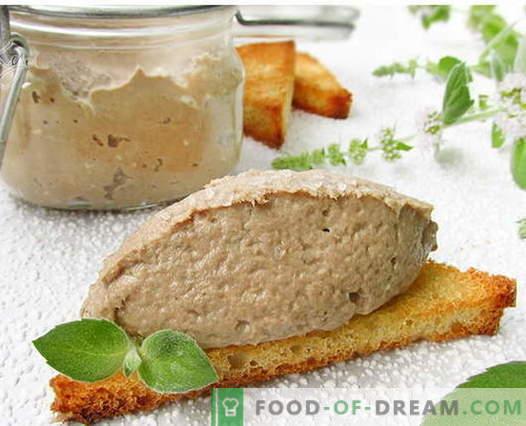 Ribja pašteta - najboljši recepti. Kako pravilno in okusno kuhati ribje paštete.