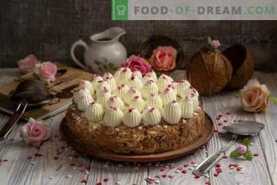 Kuchen kokosova torta - rajski užitek