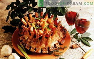 Sočno kraljevo meso: najboljši recepti priljubljene jedi. Kraljevsko meso s krompirjem, pomarančami, kivijem, jajčevcem