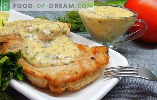 Svinjski zrezek v pečici - šik! Recepti za svinjski zrezek z gorčico, sojino omako, čebulo, krompirjem in medom
