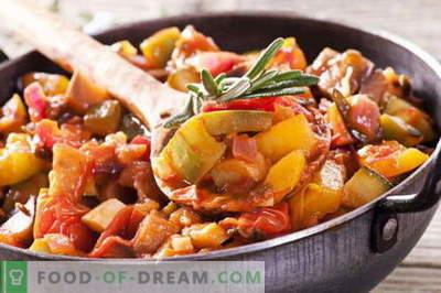 Zelenjava z mesom - najboljši recepti. Kako pravilno in okusno kuhati zelenjave z mesom.