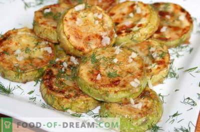 Bučke s česnom - najboljši recepti. Kako pravilno in okusno Zucchini kuhani s česnom.