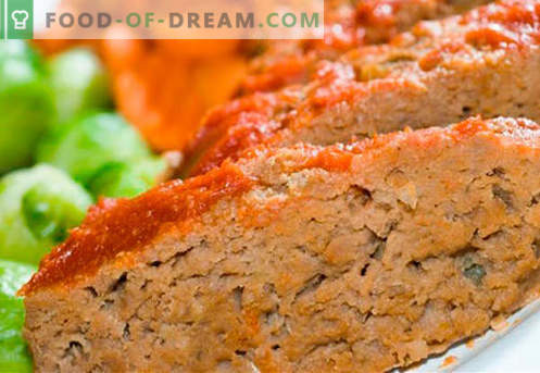 Goveje sufle - najboljši recepti. Kako hitro in okusno kuhati sufle iz govejega mesa.