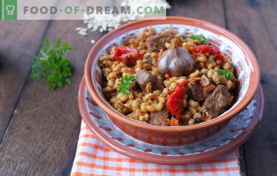 Ječmenova kaša z mesom je okusna in zdrava jed iz ruske kuhinje. Najboljši recepti za ječmenovo kašo z mesom
