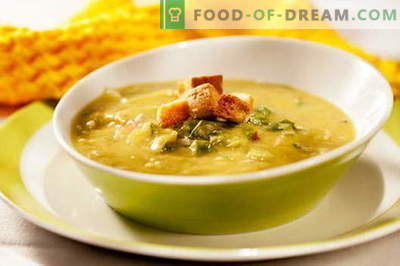 Pea soup with chicken - the best recipes. How to properly and tasty cook pea soup with chicken.