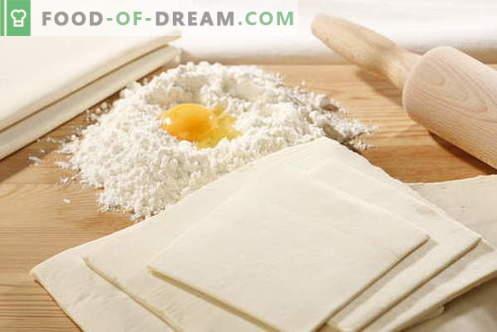 Nerauginta tešla - geriausi receptai. Kaip gaminti mieles be tešlos.