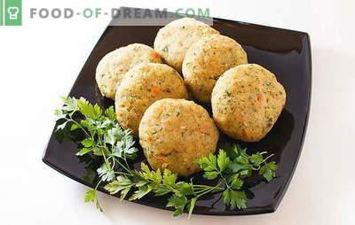 Okusne pare v dvojnem kotlu in brez parnega kotla iz mesa, žitaric, zelenjave. Recepti za parjene kotlice v dvojnem kotlu in brez njega
