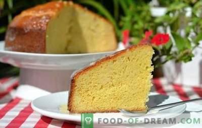 Vanilla keks: kuhanje ne zahteva spretnosti! Najboljši recepti za bujne, zračne vanilijeve piškote na mleku ali kisli smetani