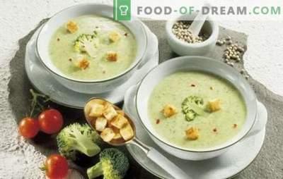 Kremaste kremne juhe: noro okusne nežnosti. Boljši avtorski recepti za preprosto in hitro kremno kremno pire krompir