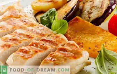 Пилешко филе на скара е елементарно! Рецепти за вкусно пилешко филе на скара во рерна, микробранова, во тава