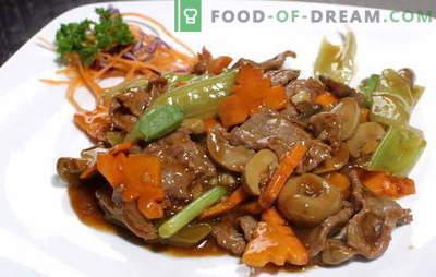 Carne in salsa di soia: carne di maiale e manzo. Le 10 migliori ricette per cucinare la salsa di soia marinata con carne