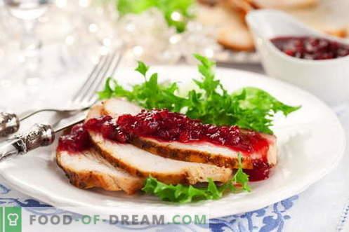 Jõhvikakaste - parimad retseptid. Kuidas korralikult ja maitsev kokk jõhvikakastet.