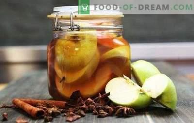 Kisle jabolke za zimo v pločevinkah brez sterilizacije - aromatičen prigrizek. Kislo jabolko za zimo: sladko, kislo, žuželke