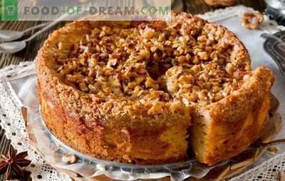 Szybkie ciasto na herbatę - przepisy na gospodynie domowe! Przepisy na szybkie ciasta na herbatę z serem, jabłkami, kakao, dżemem i dżemem