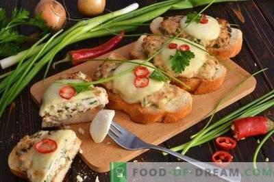 Sendviči s piščančjim kotletom in mocarelo, pečeni v pečici