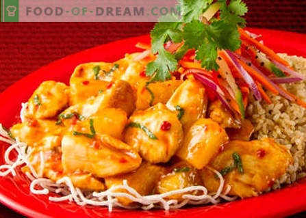 Korejski piščanec - najboljši recepti. Kako pravilno in slastno kuhati korejski piščanec.