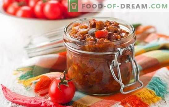Grška predjed za zimo - priprava z okusom! Grški recepti z fižolom, jajčevci, papriko, paradižnikom, oreški