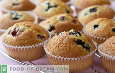 Domače kolački: recepti. Kako narediti limone, čokolado, skuto v piškotih doma