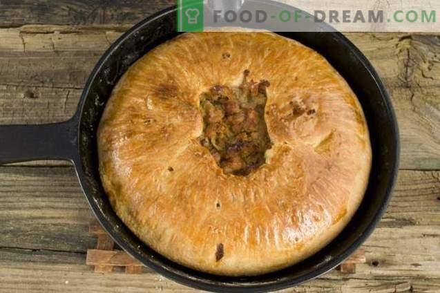 Inglise pirukas, kartul ja liha