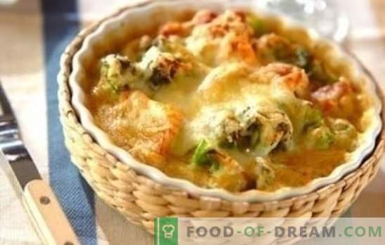 Piščanec s cvetačo v pečici - super! Recepti za zdrave in okusne jedi piščanca in cvetače v pečici
