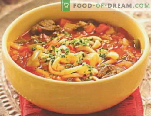 Laghman - najboljši recepti. Kako pravilno in okusno kuhati lagman.